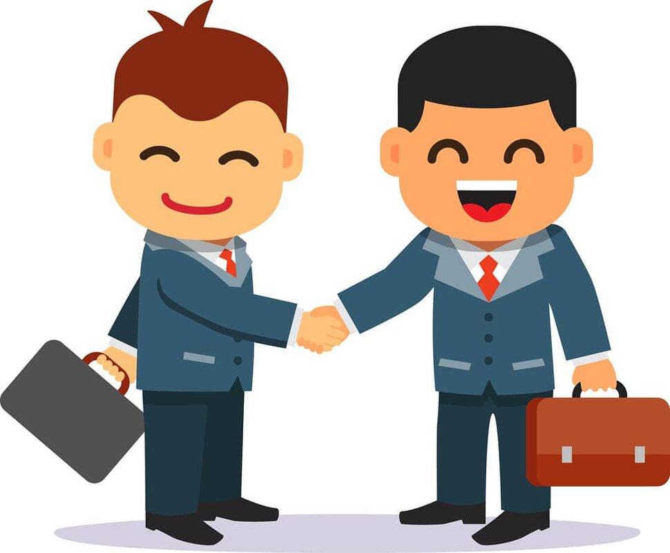 Сделка бизнесменов