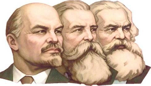 Карл Маркс и Ленин